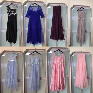 Gowns (Clearance: 0105-0112)