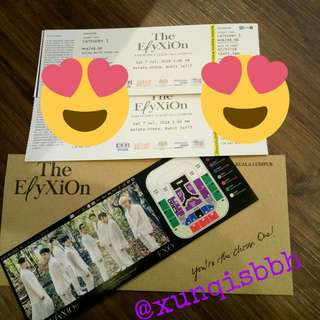 Elyxion Ticket {Want to trade}