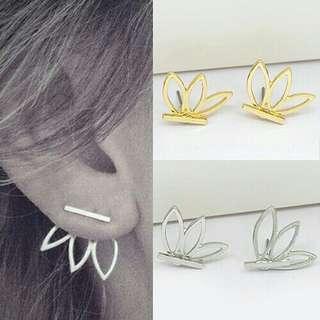 Stud earrings piercing