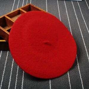 Beret (red/black)