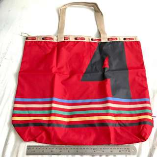 LeSportSac Tote Bag with Pouch Red