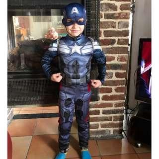 Captain America costume for boys