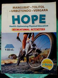 Health-Optimizing Physical Education: Recreational Activities
