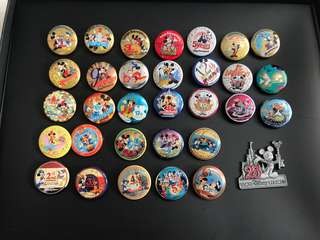 Disney 日本 25th  週年紀念襟章