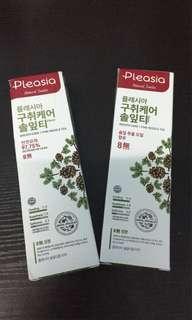 Wanna One Pleasia Toothpaste Both Rm40