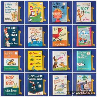 Beginner Books by Dr. Seuss & Others