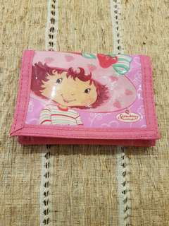 Strawberry shortcake children wallet