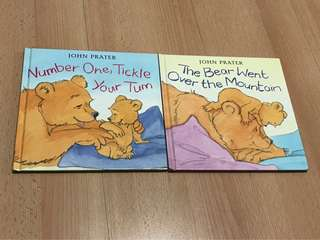 2 Baby Bear Nursery Rhyme Storybook for Baby and Children