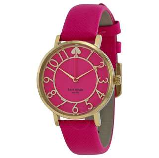 BN Authentic Kate Spade Metro Pink Watch