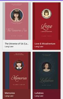 Lang Leav Books Epub