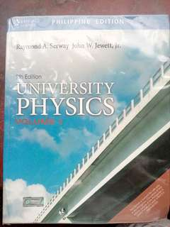 University Physics 9th Edition Volume 1