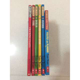 5 Horrible Histories Books + 1 Horrible Geography