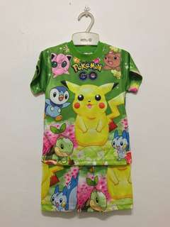 Pokemen shirt & shorts