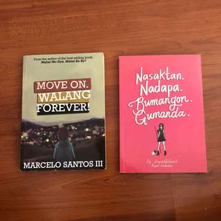 Hugot books at 75 each
