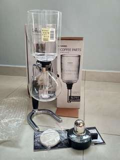 Hario TCA5 Syphon Coffee Maker (5 cups)