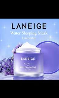 Authentic from South Korea! Laneige Water Sleeping Mask