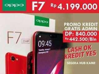 Oppo f7 super full screen cash dan kredit bsa