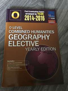 O Level Combined Humanities Geography Elective