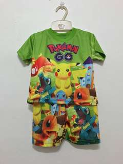 Pokemen tshirt & shorts