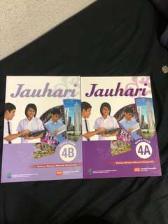Jauhari Malay Sec 4NA textbook 4A&4B