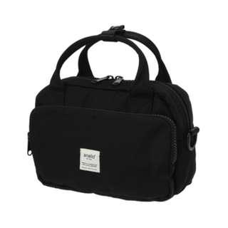 AT-N0871 [Anello] Black  Splash 2Way shoulder bag !   100 % GENUINE !
