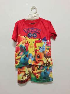 Pokemen shirt & pants