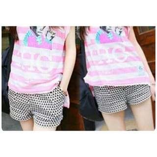 Triangle shorts / celana pendek wanita