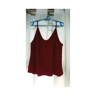 Mulberry red top