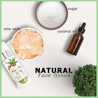 Natural Face Scrub