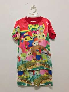 Didi & friends shirt & shorts