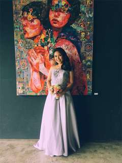 Wendell Quisido 2piece Gown For RENT