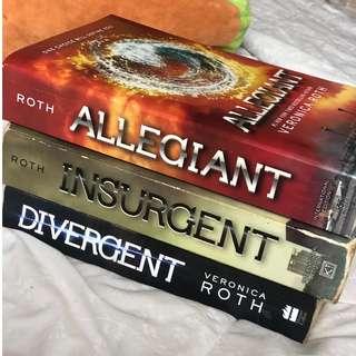 Divergent Trilogy - Veronica Roth