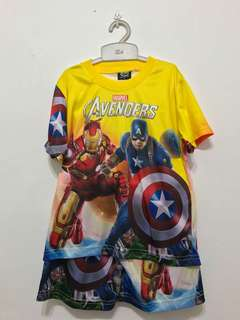Marvel Avengers shirt & shorts