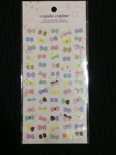 蝴蝶 星星 水滴 貼紙 包郵 $5/1張