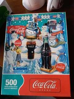 拼圖500塊 可口可樂Cocacola Coke