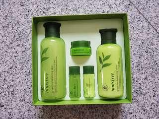 Innisfree Green Tea Skincare Set