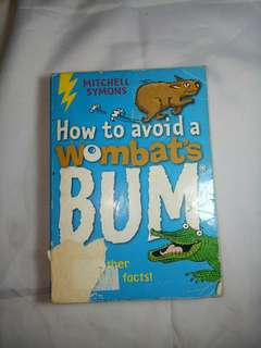 How to Avoid a Wombat's Bum book