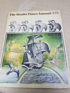 1976 The Straits Times Annual Book / Magazine