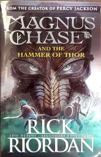 NEW!! From The Creator of Percy Jackson: Magnus Carlsen and the Hammer of Thor