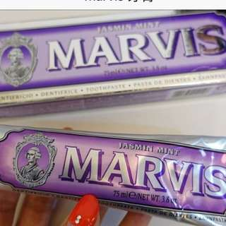 Marvis toothpaste 牙膏