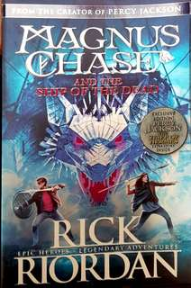 NEW!! From the Creator of Percy Jackson: Magnus Chase and the ship of death