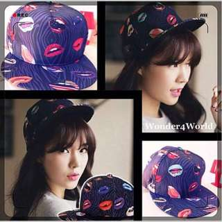 Lips Fashion Hip Pop SnapBack Hat & Cap BN