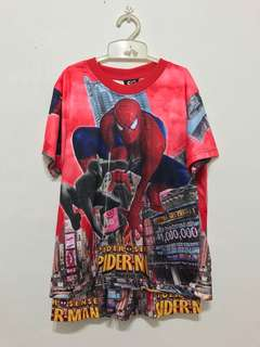 Spiderman tshirt & shorts
