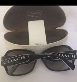 New & Real Coach Sunglasses