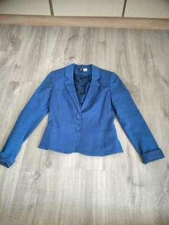 Jacket h &m blue blazer