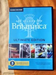 Britannica Ultimate Edition 3 DVD