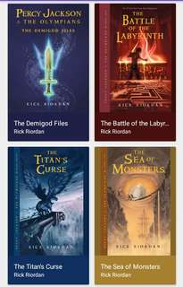 Percy Jackson Series 1-5 Epub