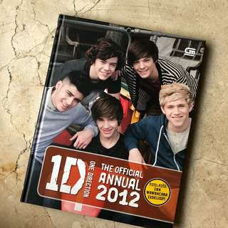 One Direction Annual Book 2012