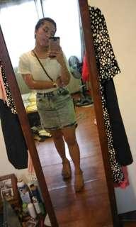 Factorie Denim HW Skirt