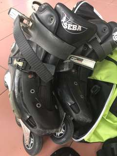 SEBA FR2 rollerblades skates size 43